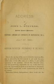 John Stevens address honolulu 1890