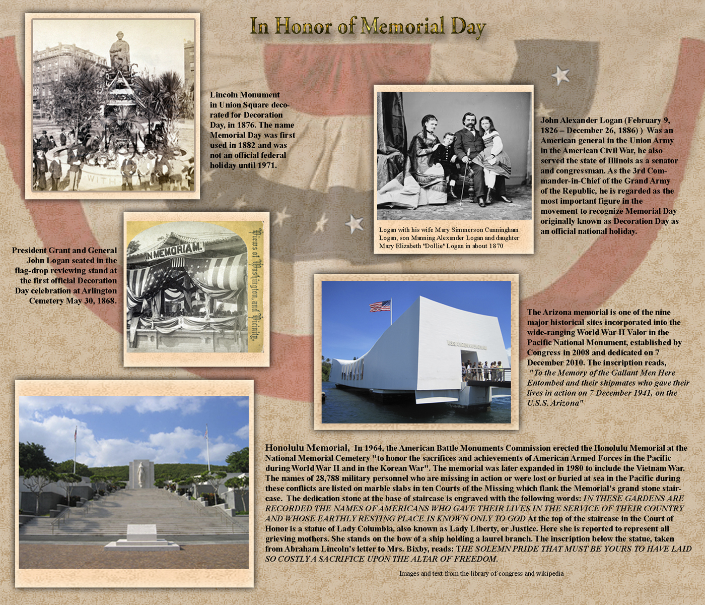 Memorial Day historical facts